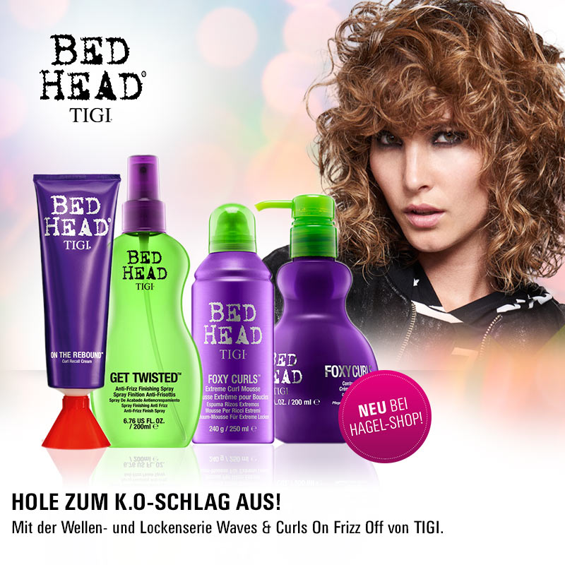 Must Haves der Woche: Tigi Bed Head Waves & Curls On. Frizz Off.
