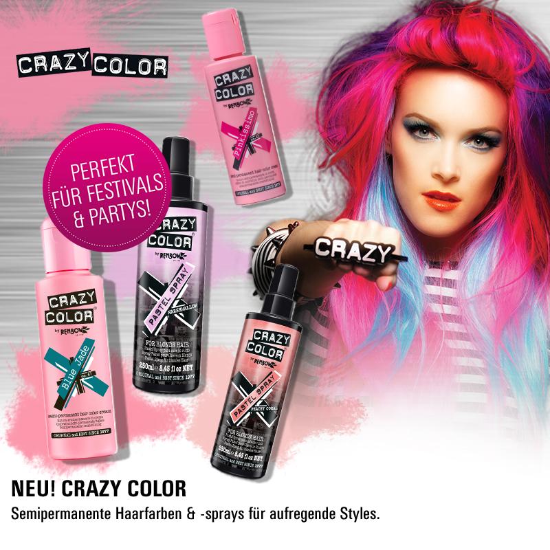 Must Haves der Woche: Crazy Color Haarfarben und Sprays!
