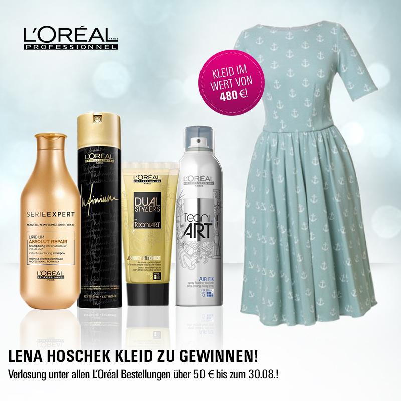 L'Oréal Professionnel X Lena Hoschek: Kleid im Wert von 480 Euro zu gewinnen