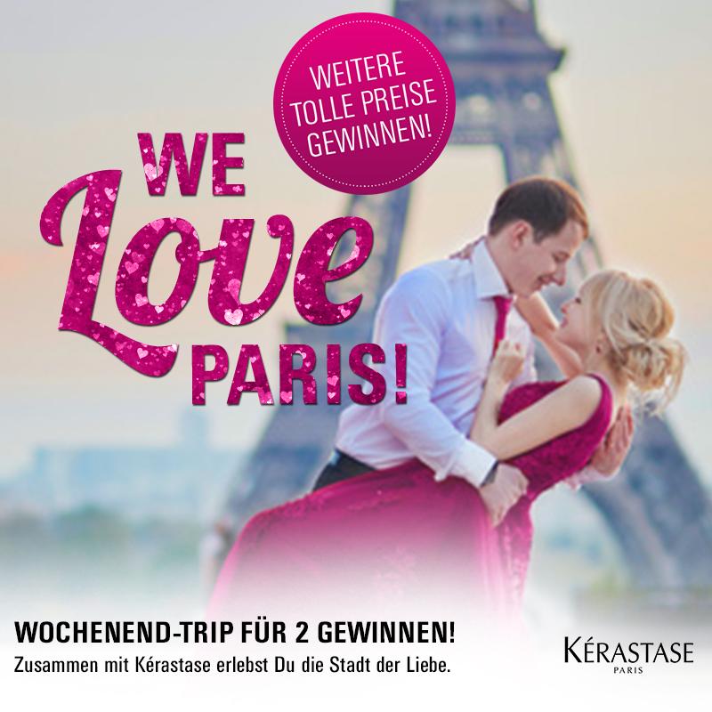 Paris mit Kérastase: Wir verlosen ein Wochenende in der Stadt der Liebe!