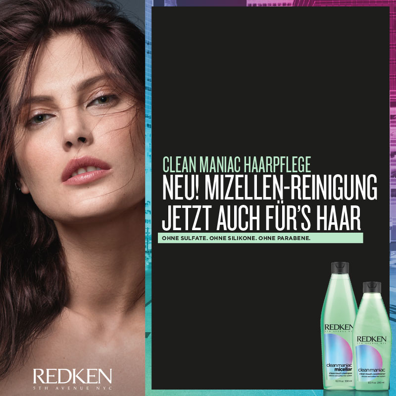 May we introduce… Redken Clean Maniac!