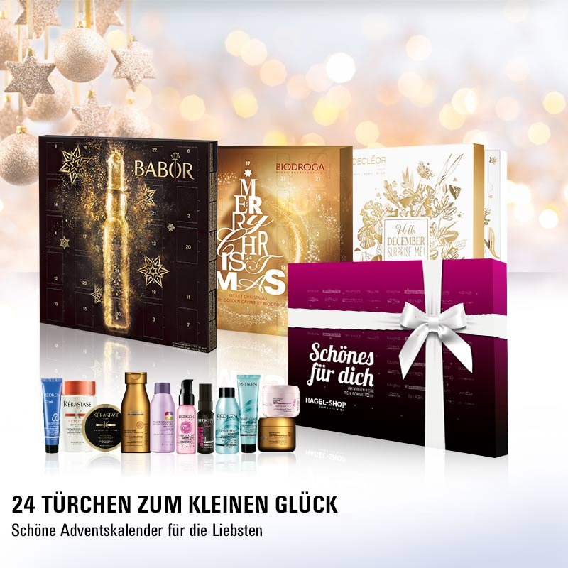 Must Haves der Woche: Beauty-Adventskalender bei HAGEL!