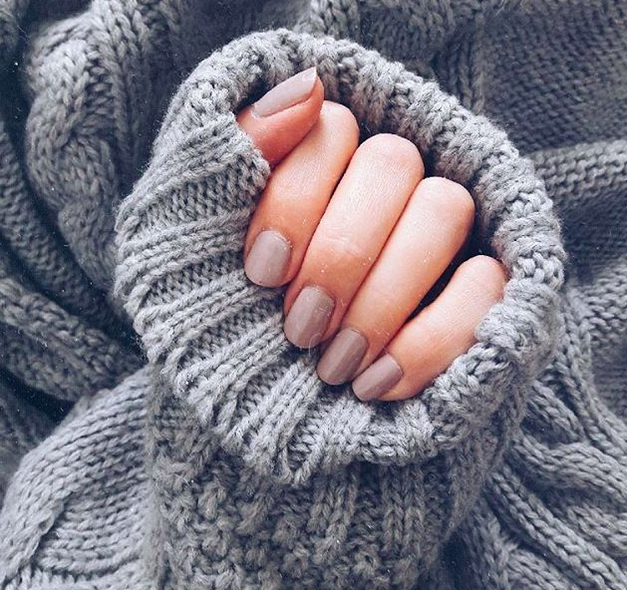 Der Nagellack-Trend für den Winter: 50 Shades Of Grey!