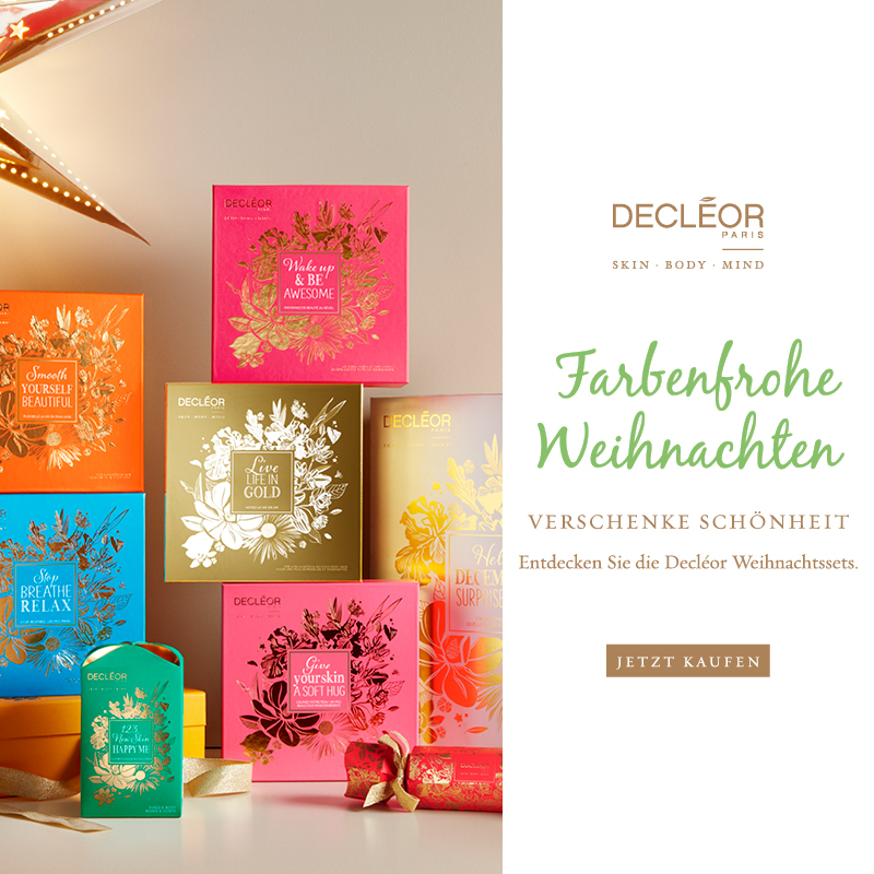May we introduce… Die Christmas Coffrets von Decléor!