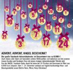 24 Facebook-Gewinnspiele: Der große HAGEL Facebook-Adventskalender!