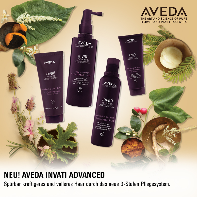 May we introduce… Aveda Invati Advanced!