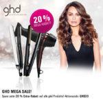 HAGEL Aktion: ghd Mega-Sale – 20 Prozent auf alle Produkte!