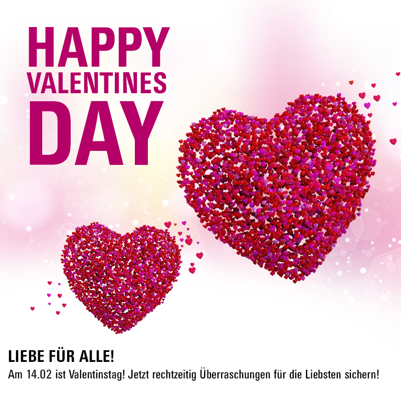 Happy valentinstag 2018