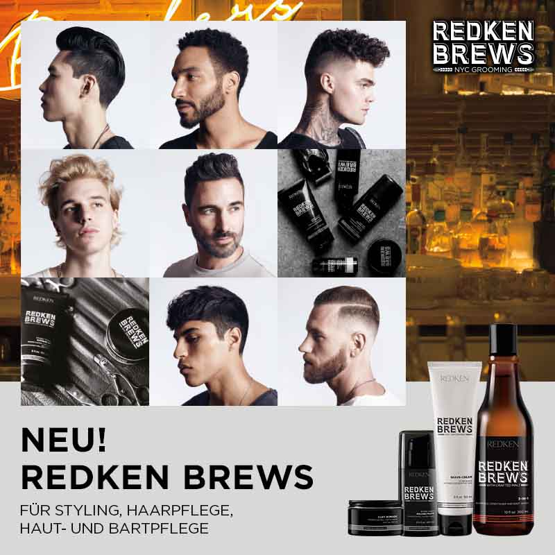 May we introduce… Redken Brews!