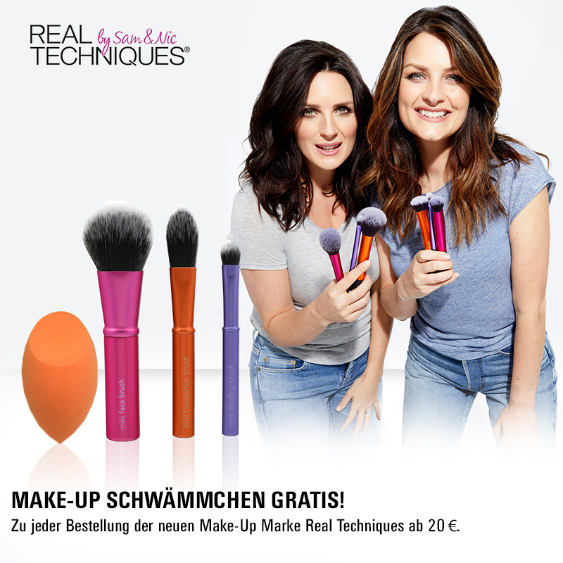 May we introduce… Real Techniques by Sam & Nic!