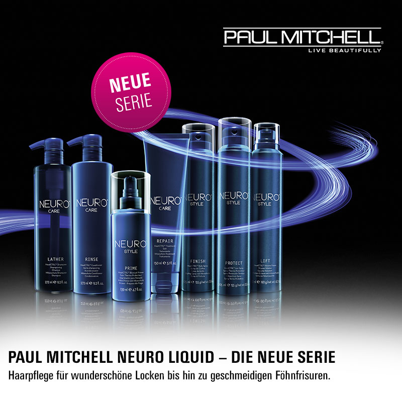 May we introduce… Paul Mitchell Neuro!