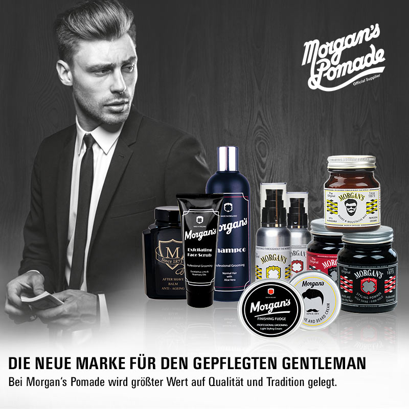 May we introduce… Morgans für die Männer!