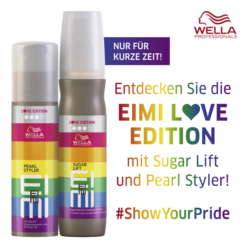 Must Haves der Woche: Die Wella Eimi Love Edition!