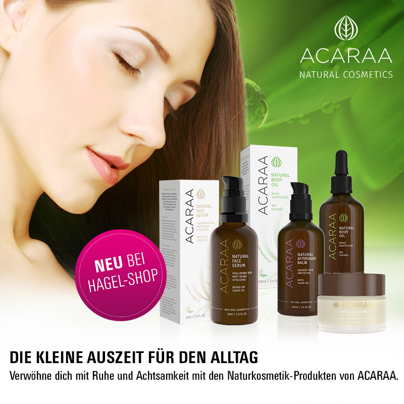 May we introduce… Die neue Naturkosmetikmarke Acaraa!