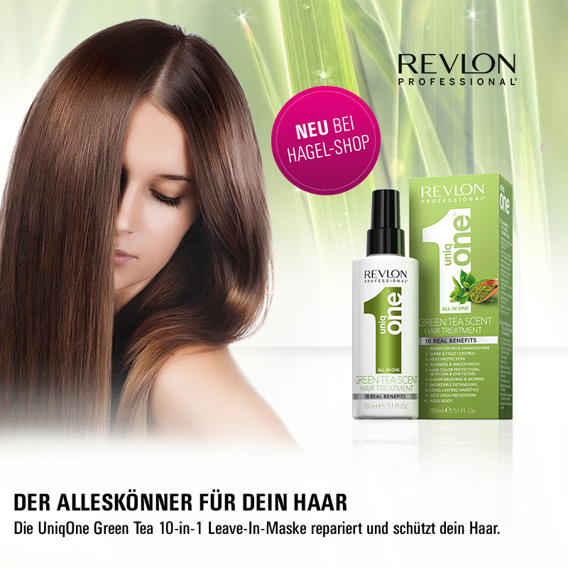 Editors Pick: Revlon Uniq One Green Tea Hair Treatment!