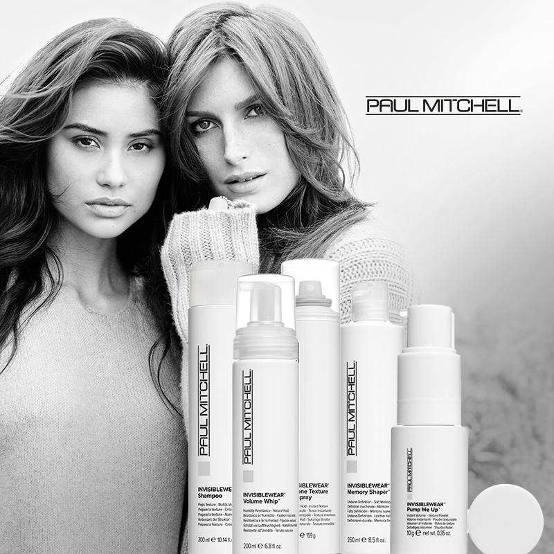 May we introduce… Paul Mitchell Invisiblewear!