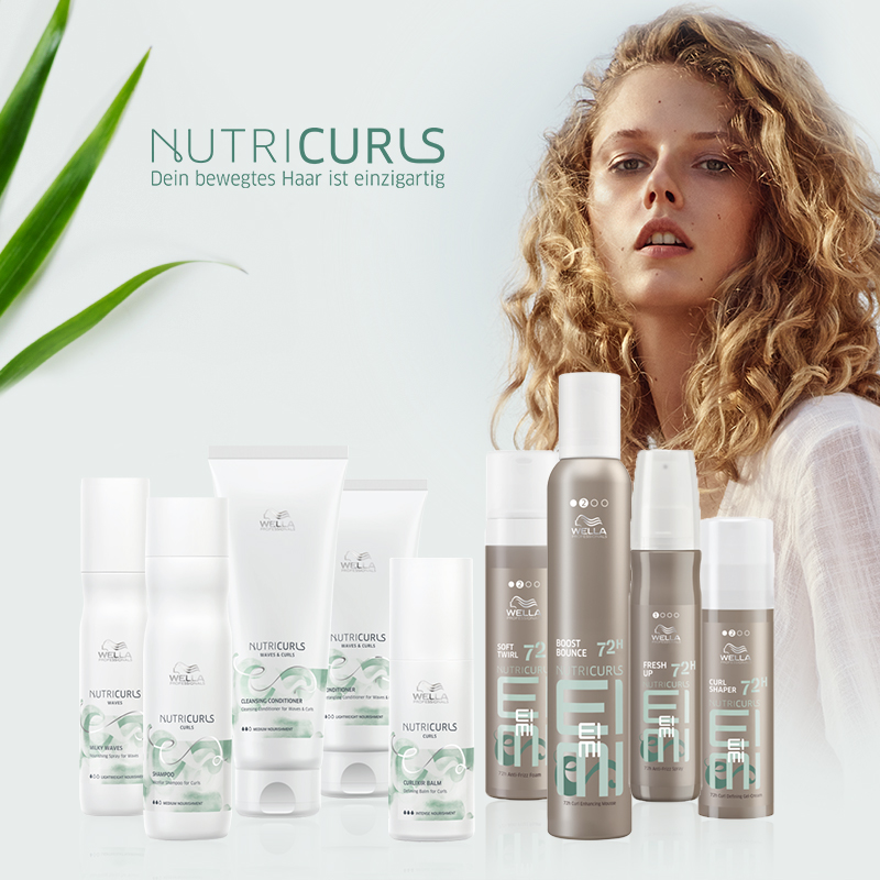 May we introduce… Wella Nutricurls!