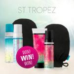 Facebook-Gewinnspiel: 3x2 Sets von St. Tropez!