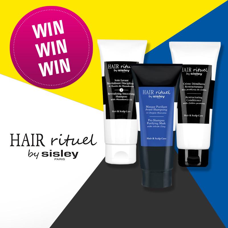 Facebook-Gewinnspiel: 3 x Hair Rituel by Sisley!