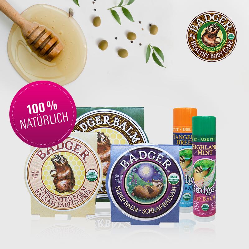 Dürfen wir vorstellen: die natürliche Hautpflege von Badger!