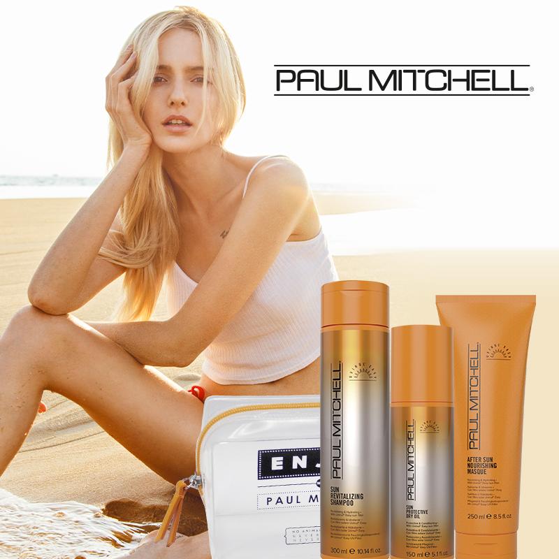 Sicher durch den Sommer: Mit UV-Schutz für die Haare!