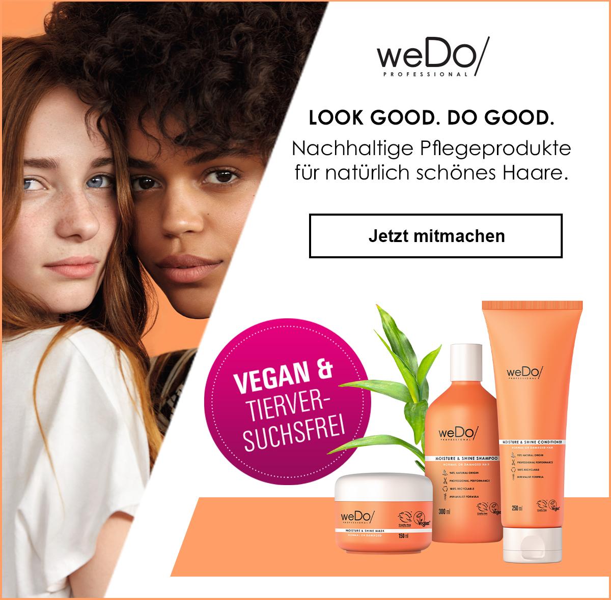 Dürfen wir vorstellen: Die neue Marke WeDo Professional!